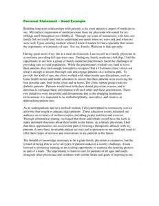 personal statement exles for chemistry personal statement