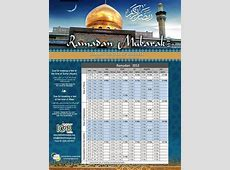 Ramadan 2017 Calendar weekly calendar template
