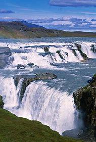 Waterfall Iceland Volcanoes