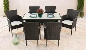 Tisch 140 X 80 : gartenm belset trentino 6 sessel tisch 140x80 cm polyrattan braun online kaufen otto ~ Bigdaddyawards.com Haus und Dekorationen