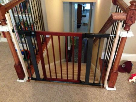 Baby Gates For Stairs With Banisters by Baby Gates S List
