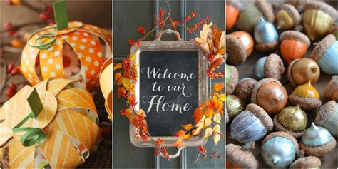 Decorating Ideas For Fall 2015 by Fall Decorations Fall Decorating Ideas 2015