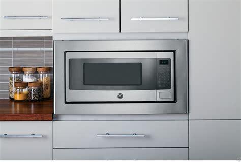 depth microwave  upper cabinet shelf ge pemsfss  cu ft countertop microwave