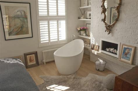 baignoire dans chambre la salle de bain ouverte une tendance qui s 39 affirme