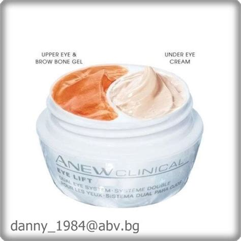avon anew clinical eye lift dual eye system upper eye gel eye new ebay