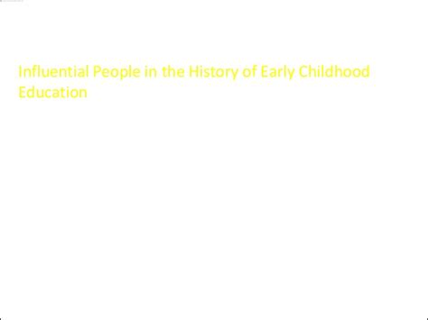 the history of early childhood education 207 | the history of early childhood education 13 638
