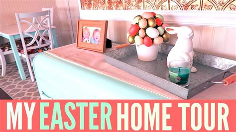 Easter Home Decor Styling: SPRING HOME DECOR - YouTube