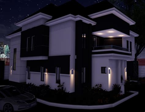 bedrooms duplex architectural design investment nigeria