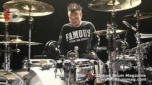 Travis Barker Drum Kit Tour - Blink 182 European Tour Kit ...