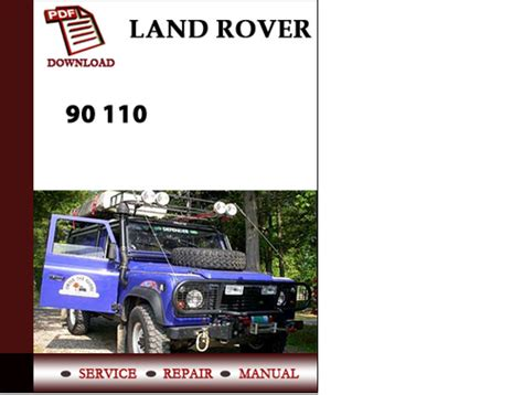 how to download repair manuals 2007 land rover discovery spare parts catalogs land land rover 90 110 workshop service repair manual pdf download