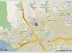 Westwood California Map My blog