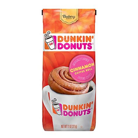 Donuts were made for dunkin' so grab a coffee while you're here. Dunkin' Donuts Bakery Series Ground Coffee, Cinnamon Roll ...