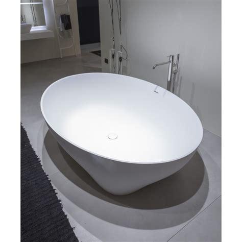 vasca da bagno ovale prezzi vasca da bagno ovale in cristalplant di modello solidea di