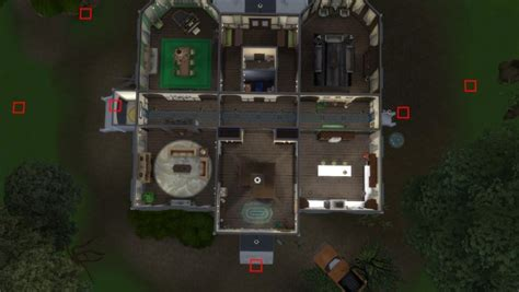 mod  sims american horror story  roanoke house  marxeen sims  downloads