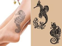 seahorse tattoo meaning  ideas  designs