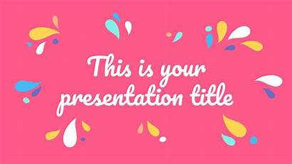 Template Slides Google Powerpoint Theme Presentation Colorful