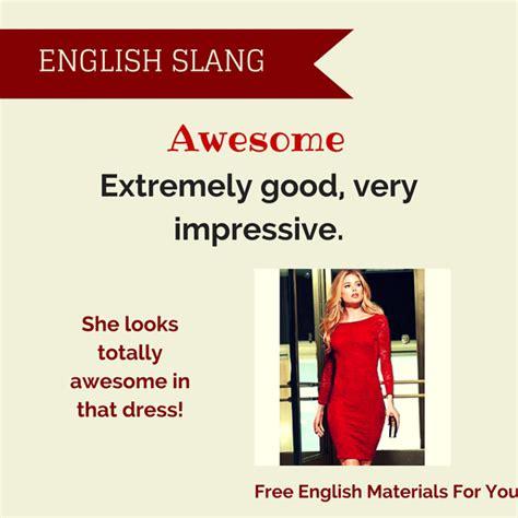 Slang  Free English Materials For You
