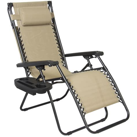 zero gravity chair drink holder folding zero gravity recliner lounge chair w canopy shade