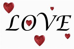 The Word Love Clipart - Clipartion.com