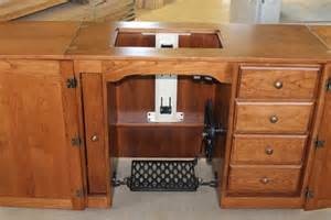 sewing cabinet woodworking plans 2