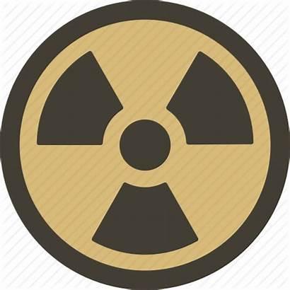 Fallout Icon Warning Radioactive Danger Hazard Attention