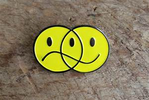 Bruised Tongue Happy Sad Venn Diagram Pin
