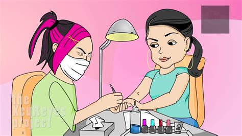 Asian Nail Salon Meme - anjelah johnson quot nail salon quot animated cartoon youtube