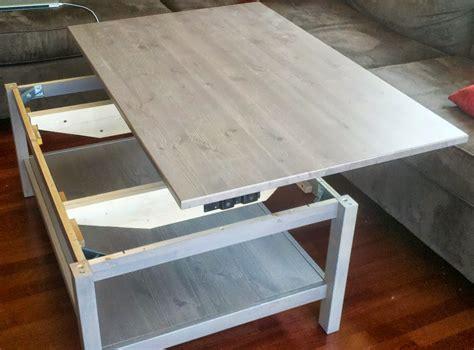 aquarium bureau table basse relevable ikea avec hemnes bidouilles ikea