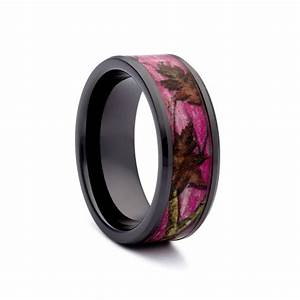 womens pink camo wedding rings camo wedding ring camo With women camo wedding rings