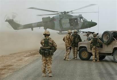 Lynx Army Corps Air Basra Airport Raf