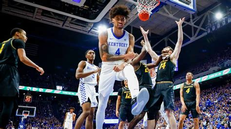 nick richards stars  kentucky opens sec play
