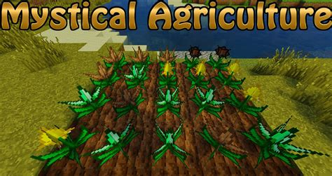 mystical agriculture mod 1 12 2 1 11 2 resource crops cool things 9minecraft net