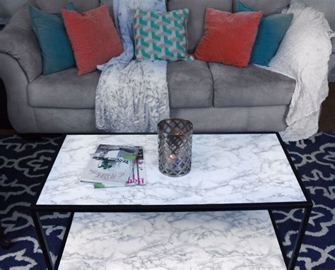 Hometalk  Diy Faux Marble Coffee Table Makeover Tutorial