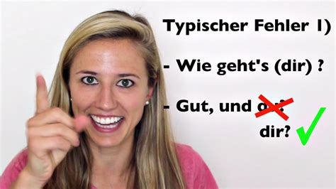 """German Lesson 4 How To Say """"how Are You"""" In German And Common Mistakes  Green Way  Green Way"""