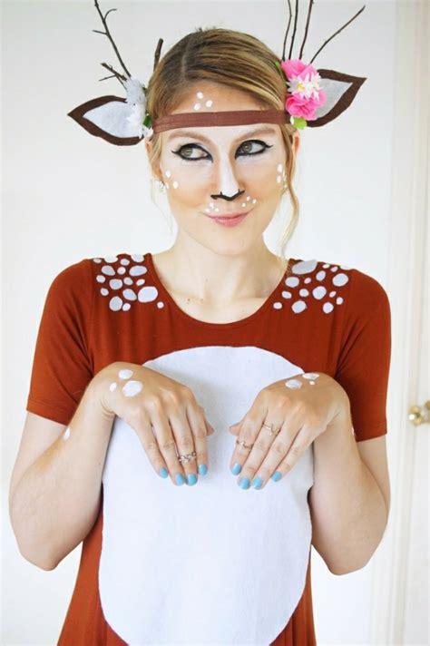 karneval kostüm reh fasching schminken welche grundregeln sollte beachten