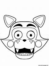 Coloring Pages Freddy Nights Five Fnaf Freddys Foxy Print Printable Sheets Info Adults Candy sketch template