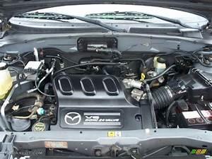 2002 Mazda Tribute Lx V6 4wd 3 0 Liter Dohc 24