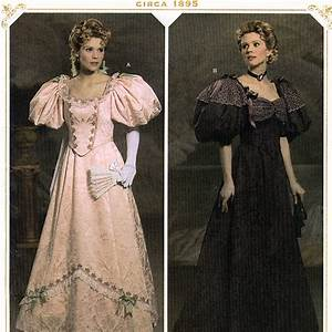 Simplicity 4078 Victorian Ball Gown Costume by Andrea ...