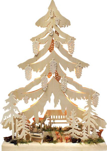 decoration en bois pour sapin de noel sapin de noel en bois electrique animaux foret