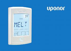 Uponor A3040095 Thermostat Installation And Operation