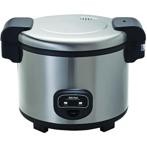 commercial rice cooker aroma commercial 60 cup rice cooker arc 1130s the home depot