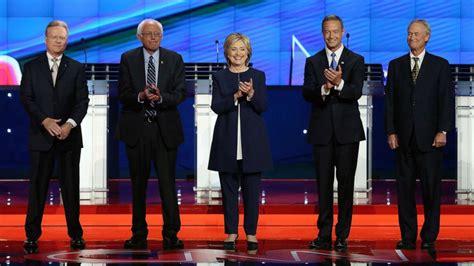democrats  hold st  presidential primary debates