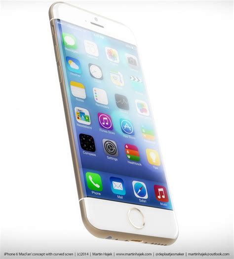 is the new iphone new iphone 6 renderings highlight curved display rounded