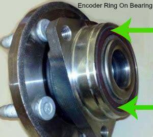 abs brake light   wheel bearing replacement