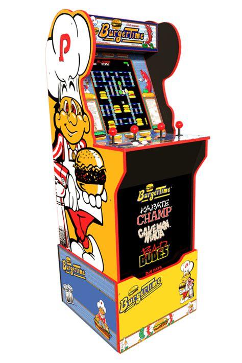 Burgertime Arcade Cabinet Arcade1up
