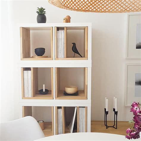 Ikea Kallax Arbeitszimmer by Ikeahack Wohnzimmer Kallax Kallax Elemente Mit In