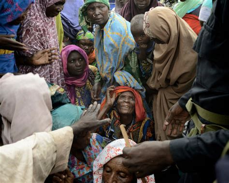 Nigerian Refugees Accuse Army Of Excess Force