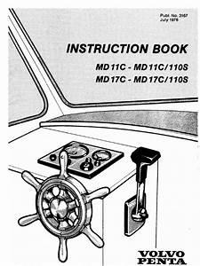 Volvo Penta Md11c User Manual