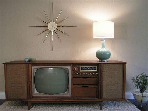 vintage tv stereo cabinet curtis mathes teak console vintage electronics pinterest