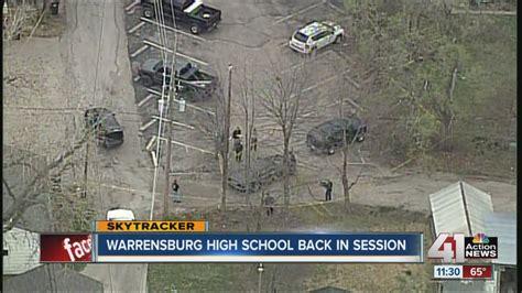 Lockdown lifted at Warrensburg High School - YouTube
